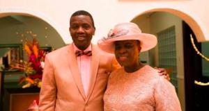 Pastor Enoch Adeboye and wife, Foluke