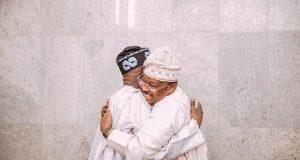 Bola Tinubu and late Abiola Ajimobi