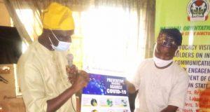 Pastor Sola Babalola and Chairman, Ogun Correspondent Chapel, NUJ