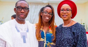 Okowa and family
