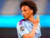Leroy Sane's only Premier League appearance this term came in City's recent win over Burnley