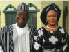 Gov. Ortom and wife, Eunice