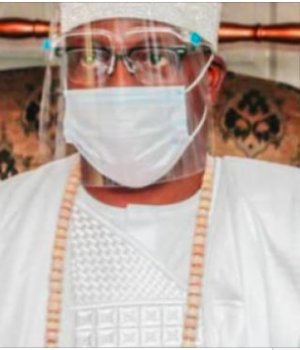 Gbolahan Lawal, Oniru of Iruland,