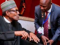 President Buhari and Ibrahim Magu