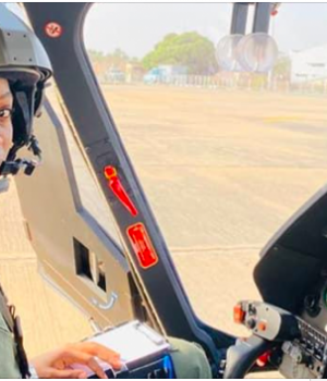 Air pilot Tolulope Arotile,