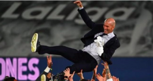 This is Zidane's second La Liga title as Real Madrid boss