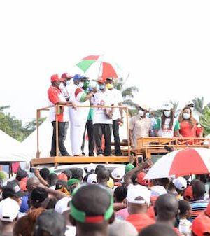 Gov. Obaseki and party faithful