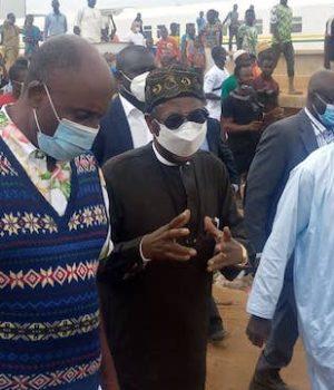 Nigerian Railways Corporation, Ibrahim Musa, Lai Mohammed and Rotimi Amaechi