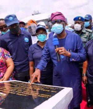 Gov. Babajide Sanwo-Olu commissions the Oshodi-Abule Egba transport service