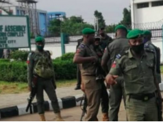 Police in Edo Assembly complex