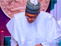 President Buhari signs CAMA Bill into law