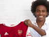 Willian follows compatriot David Luiz in moving from Chelsea to Arsenal