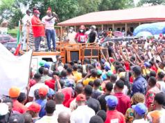 Gov. Godwin Obaseki in a campaign trail