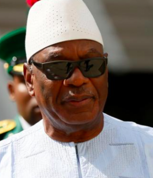 President Ibrahim Boubacar Keita of Mali