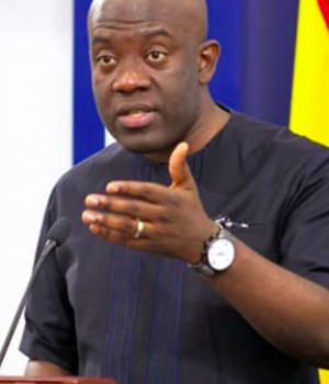Kojo Nkrumah, Ghanaian minister of information,