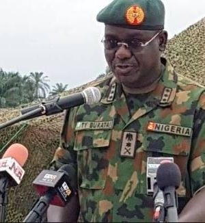 Chief of Army Staff, Lt. Gen. Yusuf Tukur Buratai