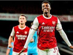 Nketiah scores Arsenal's winner