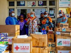 Relief materials donated to Kogi by Aisha Buhari