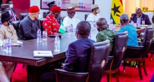 President Nana Akufo-Addo and Nigerians in Ghana