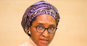 Minister of Finance, Budget and National Planning, Mrs Zainab Ahmed