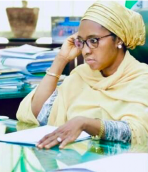 Zainab Ahmed, the minister of finance, budget and national planning