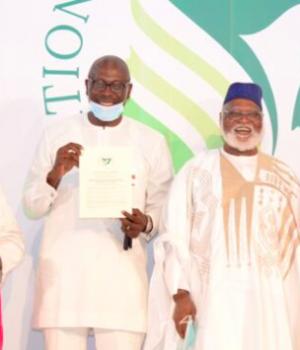Godwin Obaseki and Pastor Osagie Ize-Iyamu