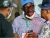 Obaseki with Wike discuss with other