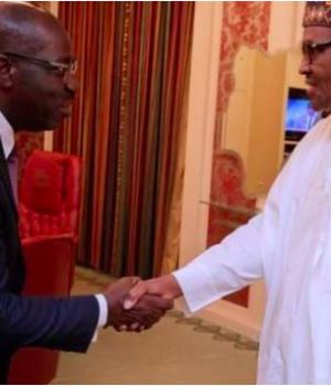 Godwin Obaseki and President Buhari