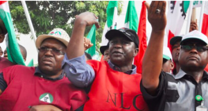 Ayuba Abba and other NLC leaders