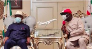 Govs Nyesom Wike and Godwin Obaseki