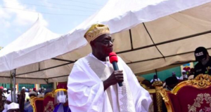 Obasanjo speaks at Shehu Idris, the late Emir of Zazzau friday prayers