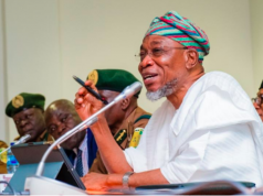Rauf Aregbesola, Minister of Interior