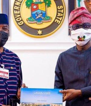 Sen. Gbenga Ashafa and Gov. Sanwo-Olu