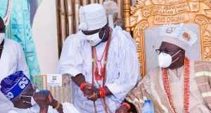 Tinubu, Ooni of Ife and the Oniru of Iruland
