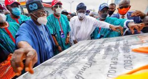 Tinubu commissions a project in Ondo