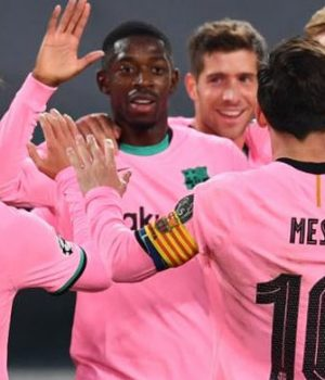 Barcelona beat Juventus 2-0 in crucial Champions League