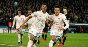 Rashford's last-gasp penalty knocks stunned PSG