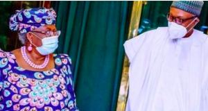 Okonjo-Iweala and President Buhari