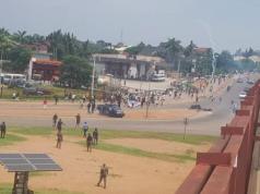 Police disperses #EndSARS protesters in Abuja