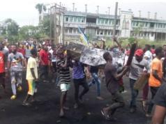 #EndSARS protesters in Benin