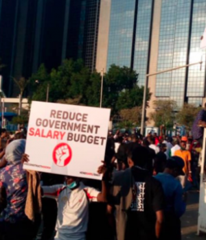 #EndSARS protesters blocked CBN HQ