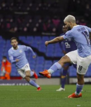 Aguero's equaliser for City was his first goal since January and his 40th in the Champions League