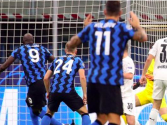 Romelu Lukaku has scored in each of his last nine games in European competition for Inter Milan