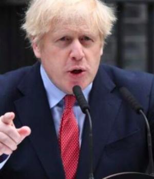 UK PM, Boris Johnson