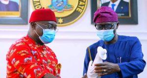 Govs Okezie Ikpeazu of Abia and Sanwo-Olu of Lagos