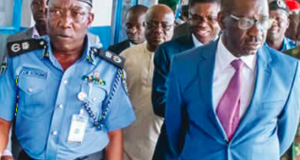 Johnson Kokumon, Edo commissioner of police and Gov. Obaseki
