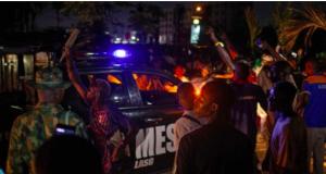 Violent #EndSARS protesters