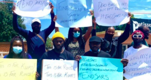 #EndSARS protesters