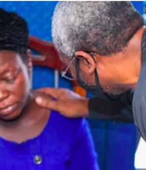 Josephine Okereke, widow of the vendor killed by Gbajabiamila aide