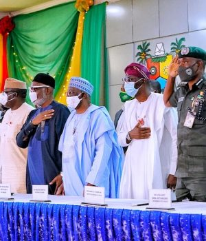 South West Govs in Lagos